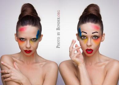 Makijaż Editorial